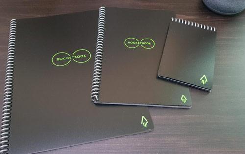 3 cahiers réutilisables rocketbook