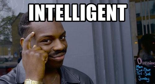 même homme intelligent