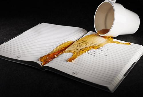 papier de pierre dans cahier reutilisable