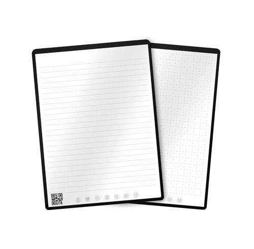 Rocketbook flip sur fond blanc
