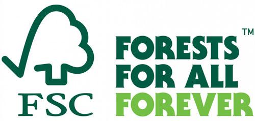Logo FSC avec arbre