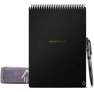 cahier réutilisable Rocketbook flip a5 avec accessoires
