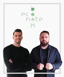 Luc Marani & Stéphen Le Guen, Fondateurs Econotebk